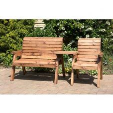 3 Seater Companion Wooden Set